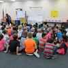 Spencer's 3rd grade Honor Roll Assembly, Ridgecrest Elem, Largo, FL, 11/16/2015