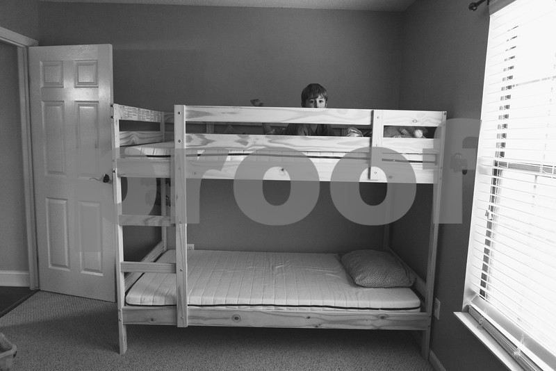 That day you got your new bunk bed and played in it with your sister like crazy!