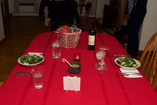 2015.02.14 Valentine's Day Dinner by Sophia!
