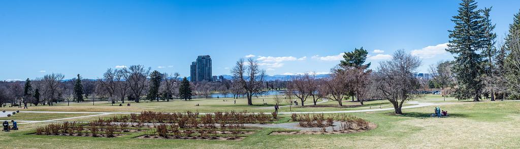 Denver Spring panorama
