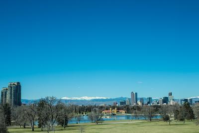 Denver on a spring day.