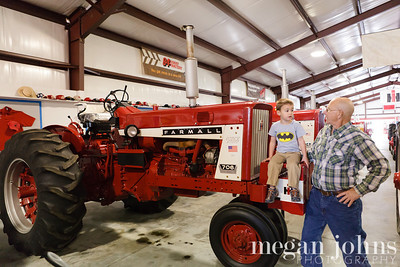 11-21-2012  With Papa at the Tractor museum.