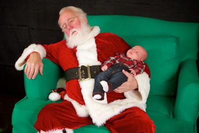12/5 - Sleeping Santa