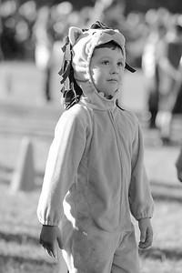 Jason Bergmann participates in Cherokee Elementary Schools Halloween Parade
