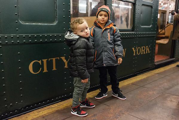 Nostalgia Subway Train