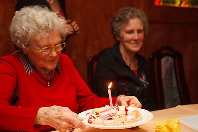 Oma Gijsje verjaardag