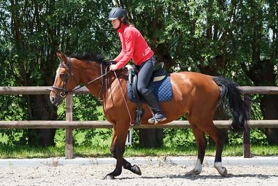 Paardrijwedstrijd Eloise