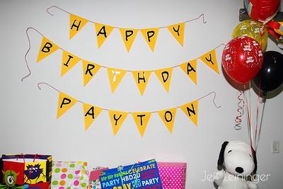 Payton's 3rd Birthday