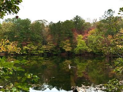 Fall at Sibley Pond