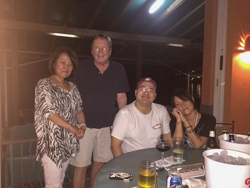 Hiroko, Jim, Les, Su Jin