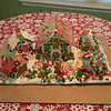 Miles, Marquel, and Kenzie's gingerbread