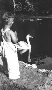 Jim & goose