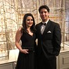 Rachel and Alex at Meredith Perot's deb ball on New Year's Eve, 2017.