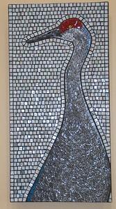 Sandhill crane mosiac