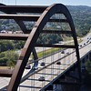 Beautiful view of the Capital of Texas Hwy, Loop 360 and the Pennybacker Bridge