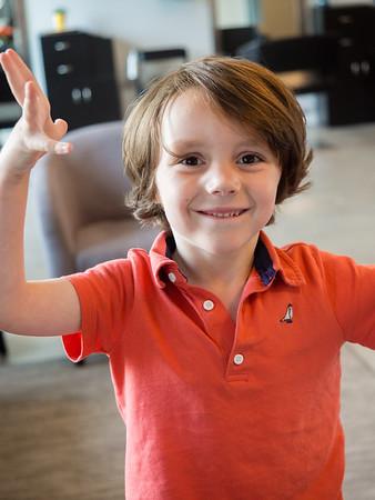 Owen's First Haircut