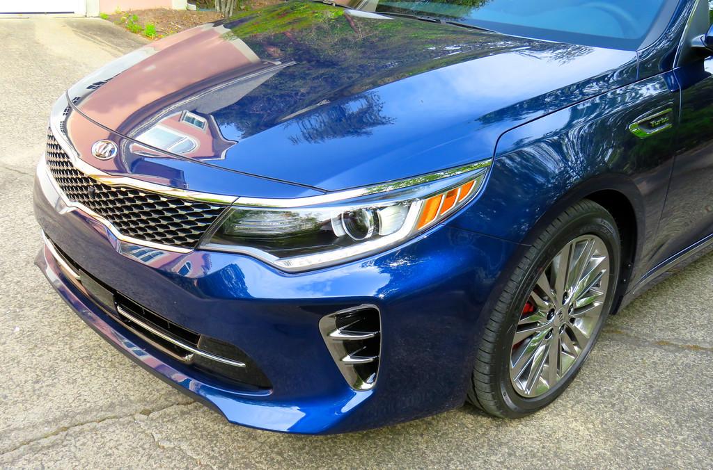 Russell Bellmor's 2016 Kia Optima SX Limited April 2016