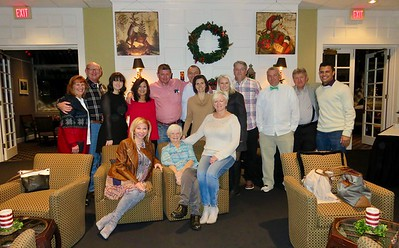 2016 Christmas In Terre Haute, IN • Bellmor's, Doti's, Jarvis & Sandhop's Dinner At The Country Club 12-23-16
