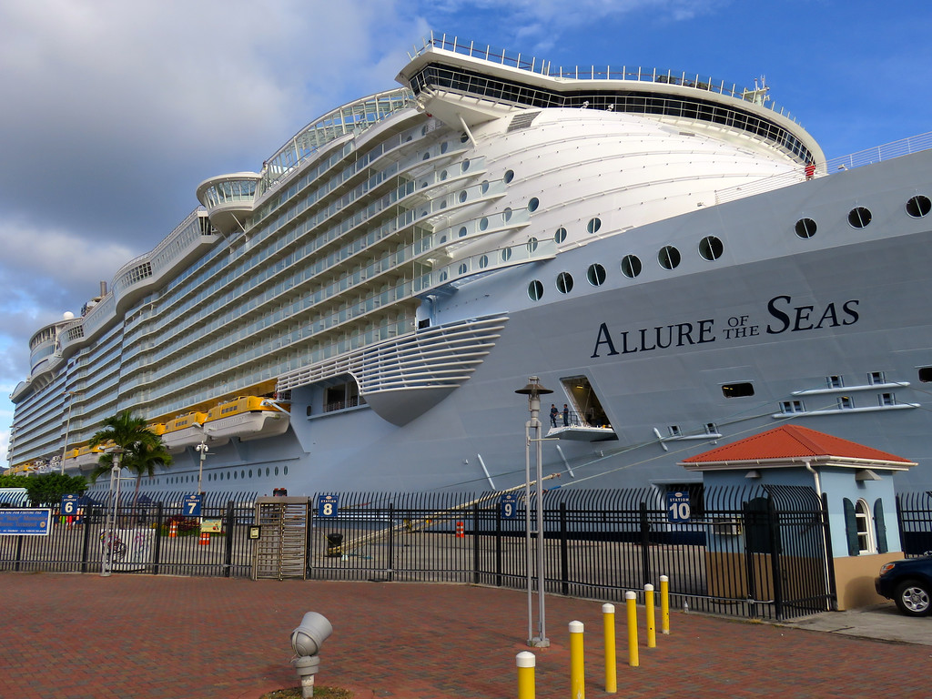 Allure Of The Seas In St Thomas USVI May 2016