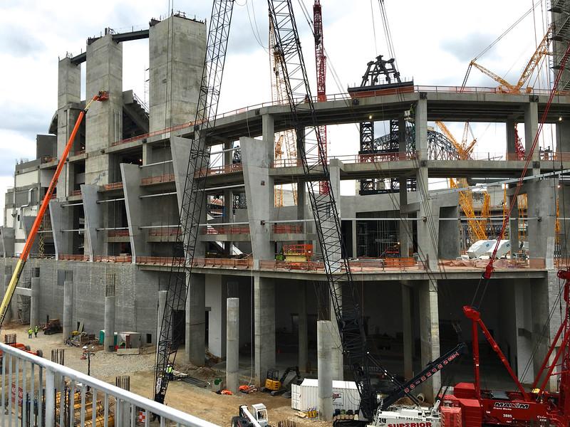 Atlanta's New Falcon Stadium Under Construction March 2016