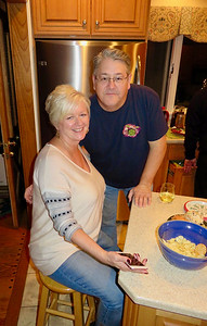 Dee & Steve Sandhop • 2016 Christmas Eve In Terre Haute, IN At The Doti's Home 12-24-16