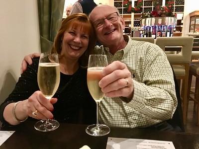 Ann & Russell Bellmor 12-31-16 New Year's Eve Dinner