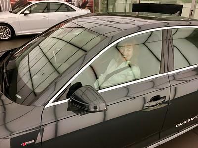 Ann Bellmor With Her 2017 Audi A4 Quattro Prestige 12-17-16 03
