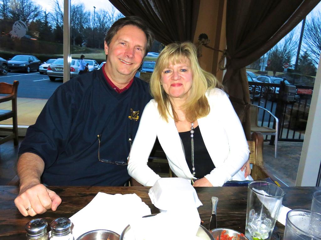 Tom O'Barr & Kathy Collier @ Tara Humata Mexican Grill 2-20-16
