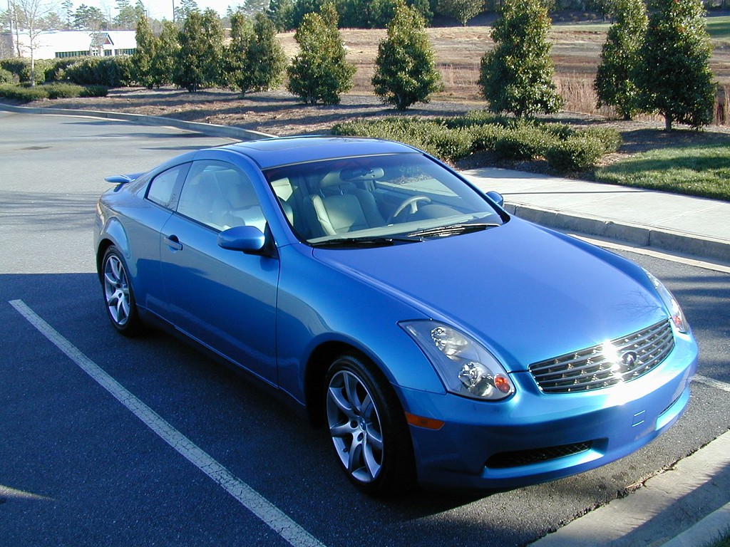 Russell's 2004 Infiniti G35 Retiring April 2016 With 224,000 Miles