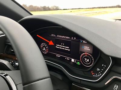 Ann's 2017 Audi A4 Auto Steering Warning 12-23-16