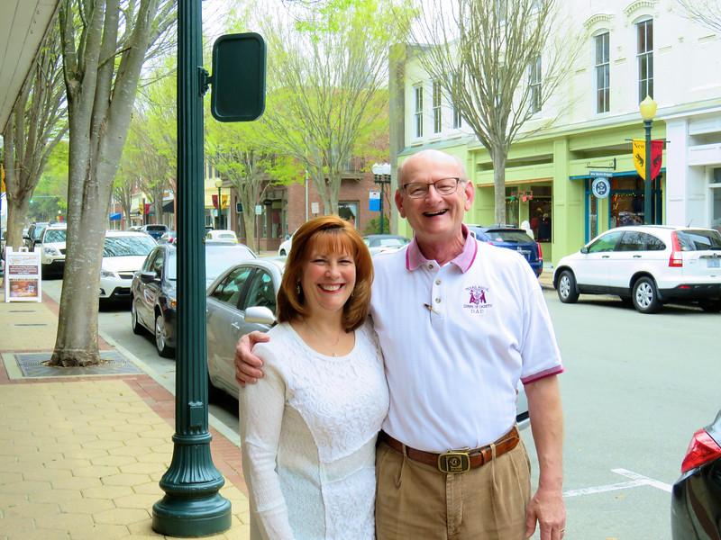 Ann & Russell Bellmor Downtown New Bern NC 3-27-16
