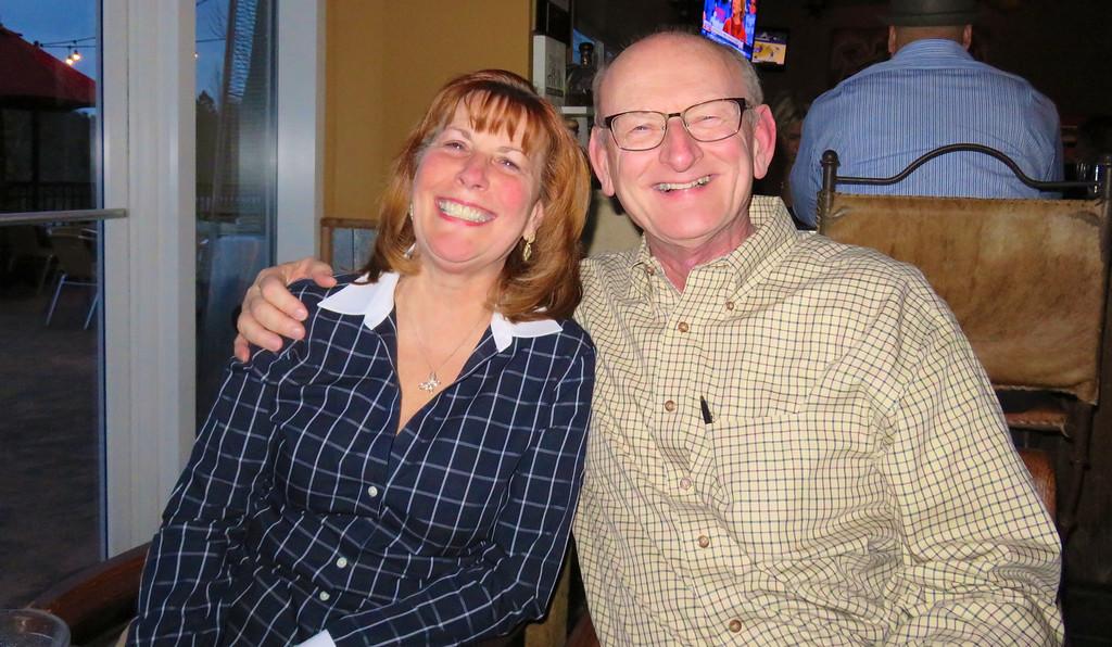 Ann & Russell Bellmor @ Tara Humata Mexican Grill 2-20-16