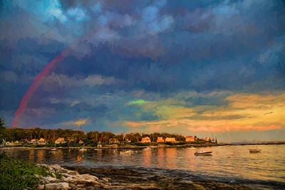 Across Long Cove, Maine