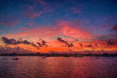 Dawn over Grand Cayman