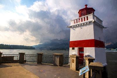 Brockton Point Lighthouse