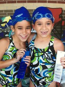 Sarah - 2nd   swimming