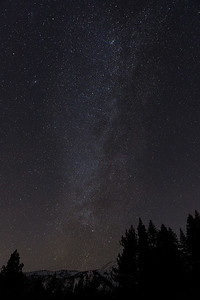 Milky Way over Tahoe