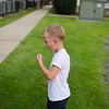 """August 24, 2016 - John David working on pulling his 2nd tooth on a Weds night at Bethesda.  Photo by John David Helms,  <a href=""""http://www.johndavidhelms.com"""">http://www.johndavidhelms.com</a>"""