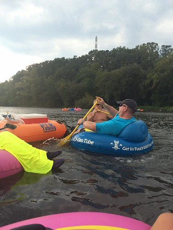2016 July - Tubing in Asheville