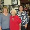 Shirley, Mary Ann Schuessler, Sandy Dubuque, Shirley's home, Clearwater, FL, 2/24/2016