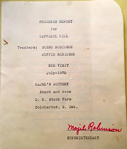 Progress Report for Daffadil Hill (Daffy the beagle) from Majel's Muttery - July 1970