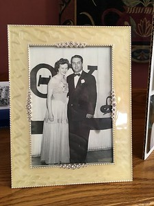 "Elizabeth Robinson and Alton ""Doc"" Hill (her future husband)"