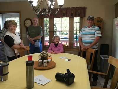 Barbara Robinson, John Robinson, Jenene Robinson and Craig Stevens