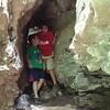 June, Cave exploring