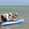 March, paddleboarding at Curry Hammock State Park