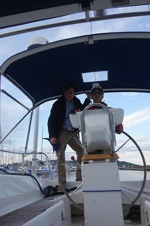 Puget Sound Sailing Trip - Johnny Photos