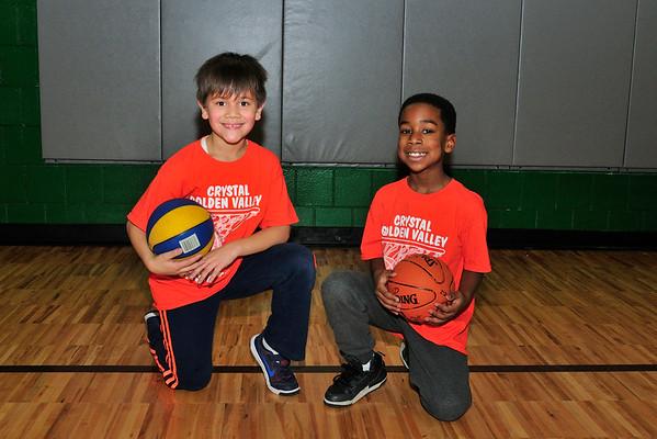 Owen and Amir Basketball 2016