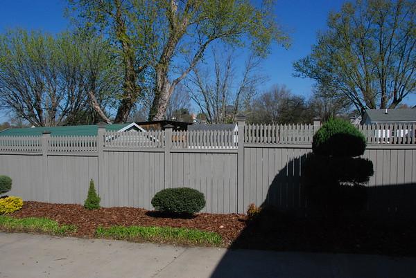 Bill's fence