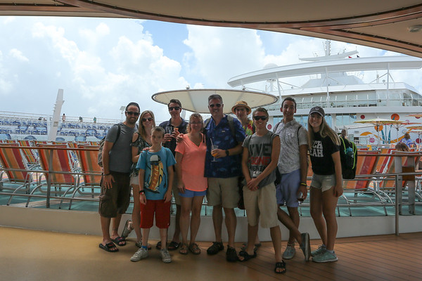 On board Allure of the Seas