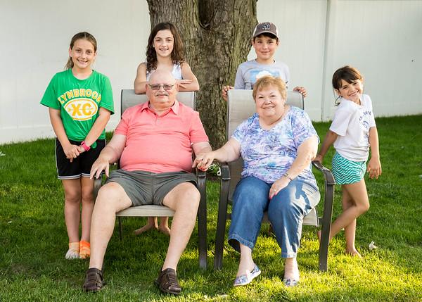 Grandma and Grandpa's Visit